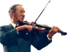 shinichi Suzuki playing violin